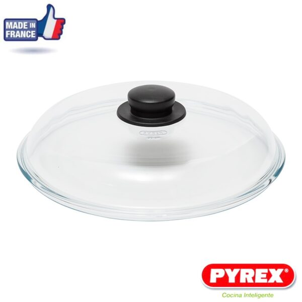 Tapadera de Cristal Pyrex